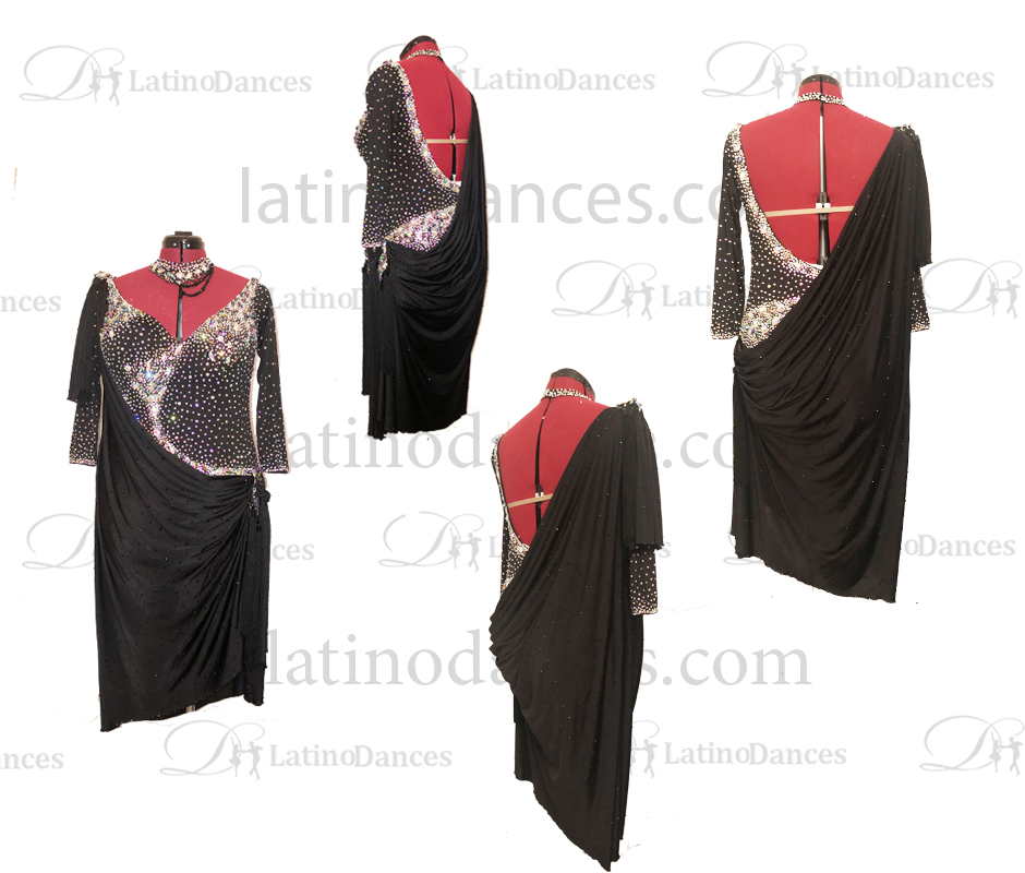 Dancesport latin dresses M707