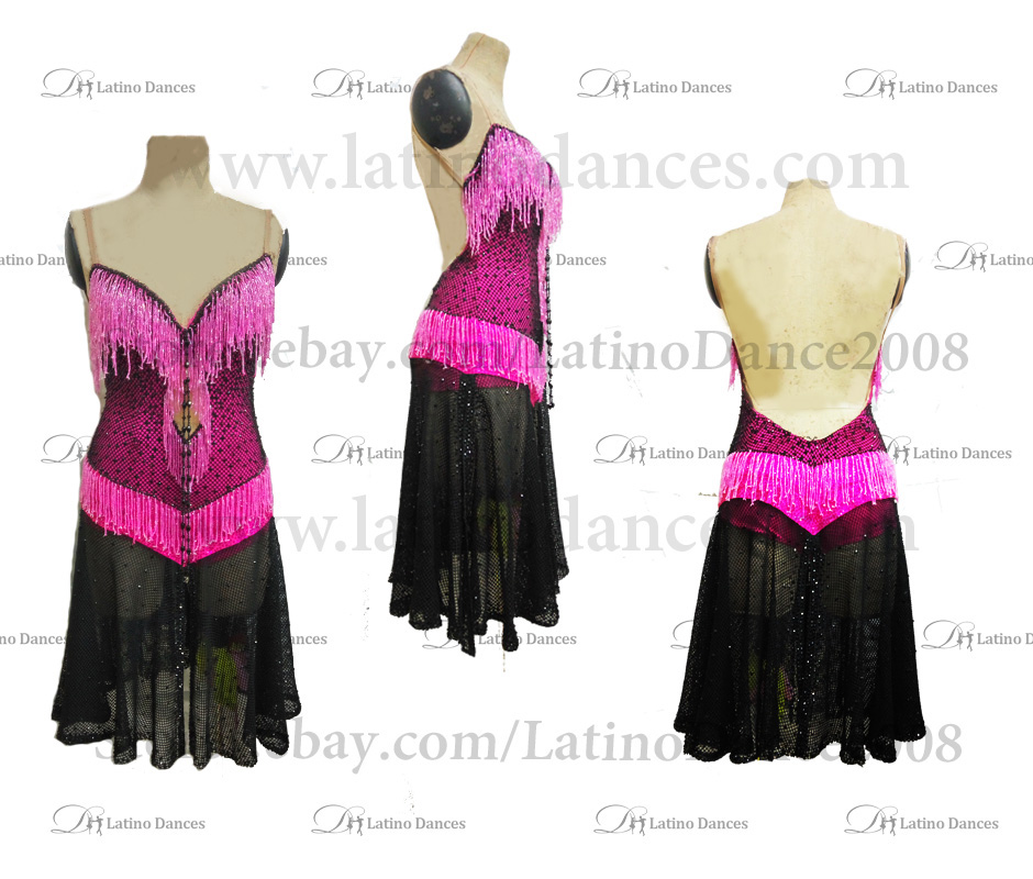 Latin Paso Dance Tailored Dress With High Quality stones M506A