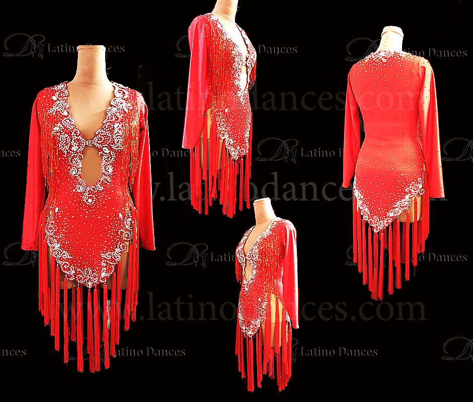 Latin/Rhythm Dress M596