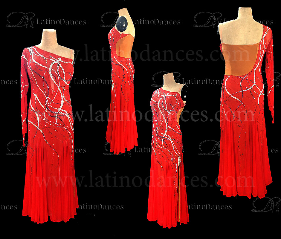 BALLROOM / STANDARD / SMOOTH COMPETITION DRESS ST378