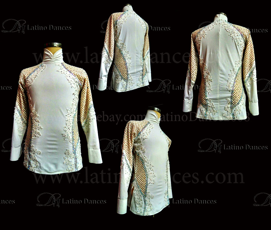 MEN'S LATIN VEST/COAT/ BODY. DB 162