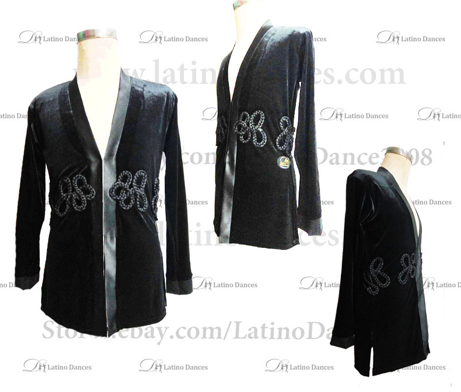 MEN'S LATIN VEST/COAT/ BODY. DB 165