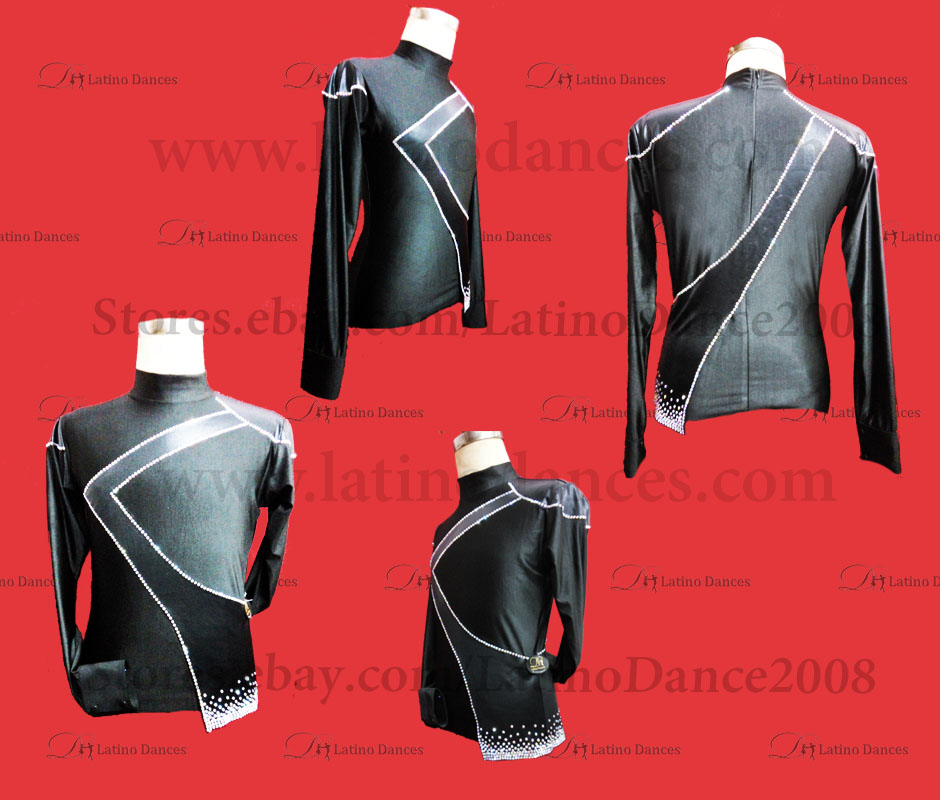 MEN'S LATIN VEST/COAT/ BODY. DB 191