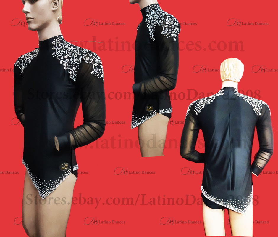MEN'S LATIN VEST/COAT/ BODY. DB 195