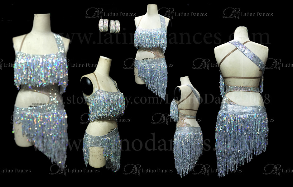 LATIN DRESS COMPETION WITH HIGH QUALITY STONES M265B