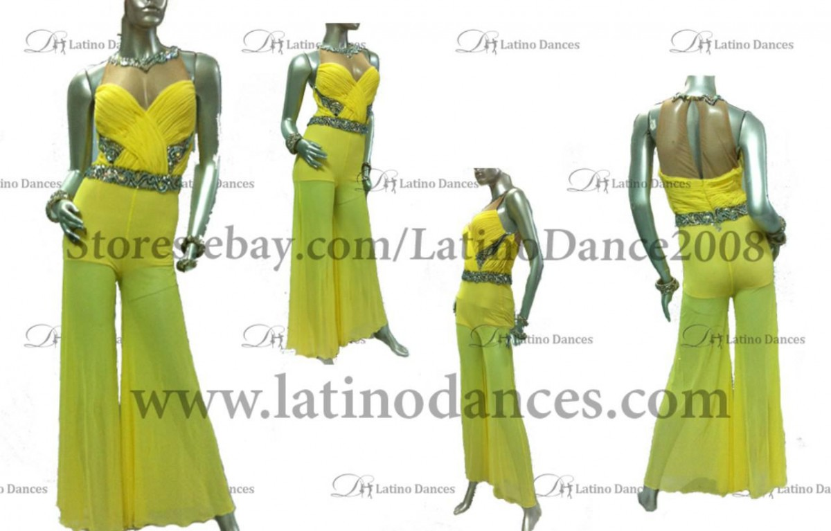JUMPSUIT LATIN DRESS M384-J11