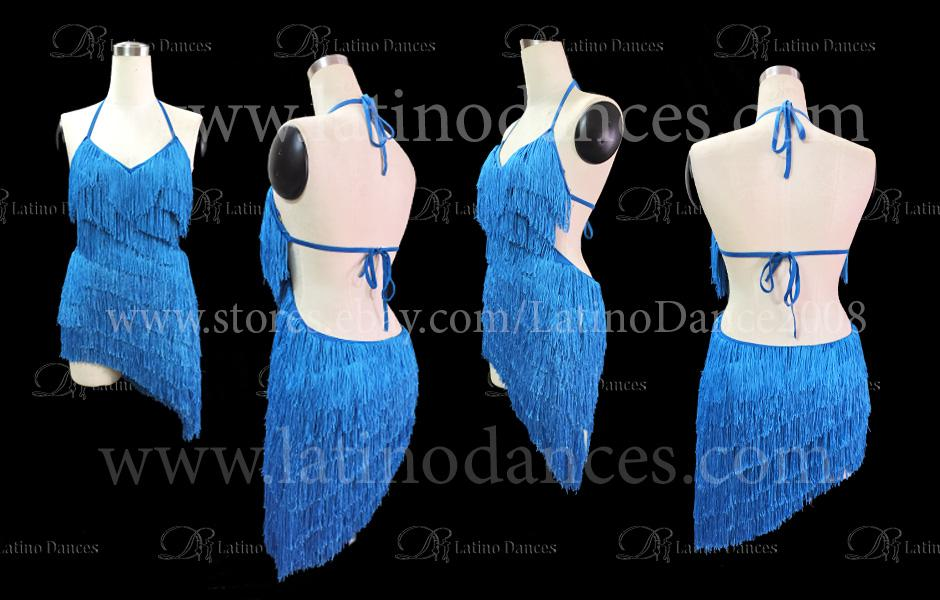 LATINO DANCE DRESS COMPETITION WITH HIGH QUALITY STONE M397