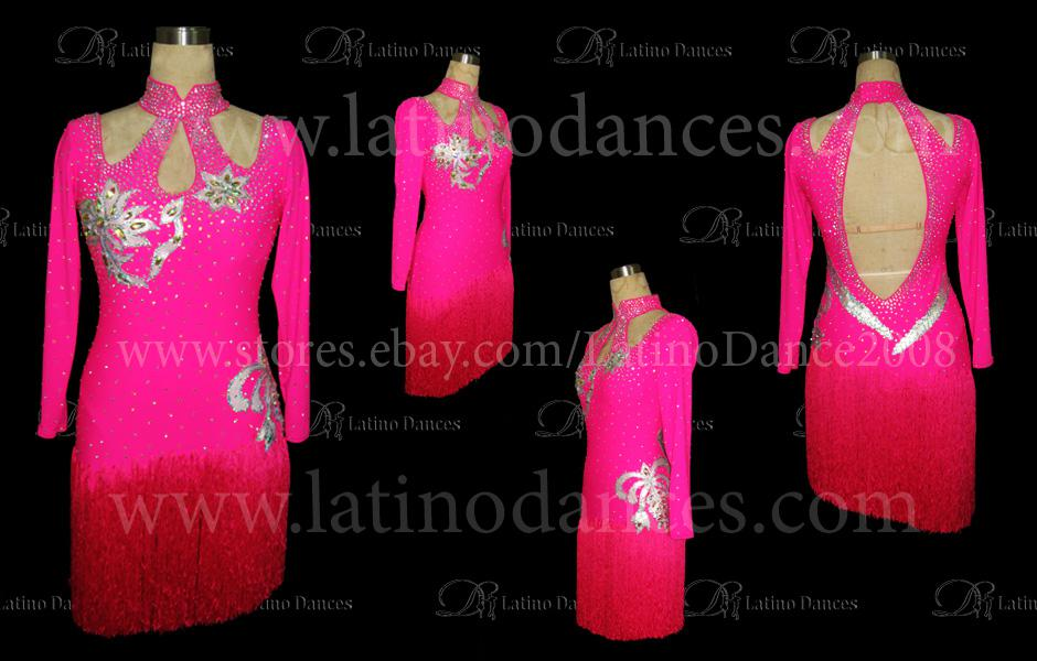 LATINO DANCE DRESS COMPETITION WITH HIGH QUALITY STONE M129A
