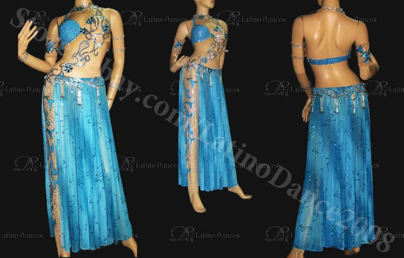 Tailor-made Latin/Show/Belly dance dressM40