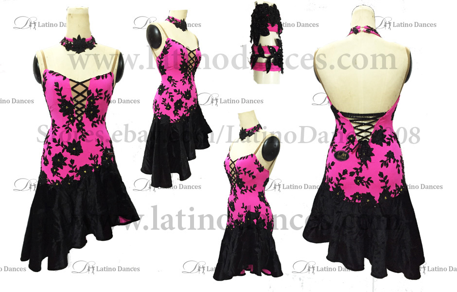 LATINO DANCE DRESS COMPETITION WITH HIGH QUALITY STONE M405