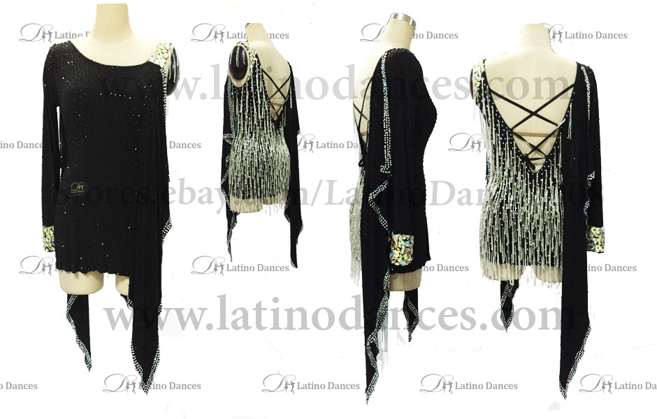LATINO DANCE DRESS COMPETITION WITH HIGH QUALITY STONE M410