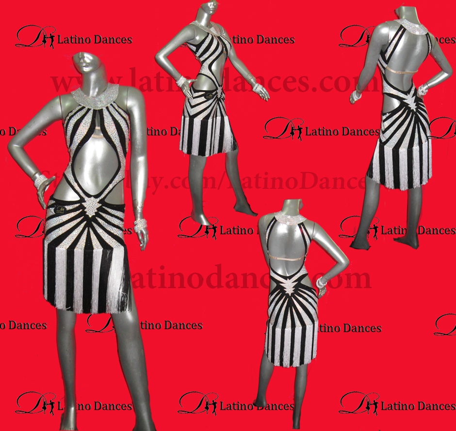 LATINO DANCE DRESS COMPETITION WITH HIGH QUALITY STONE M414