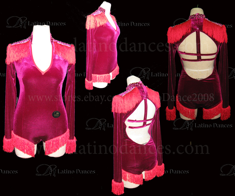 LATINO DANCE DRESS COMPETITION WITH HIGH QUALITY STONE M417