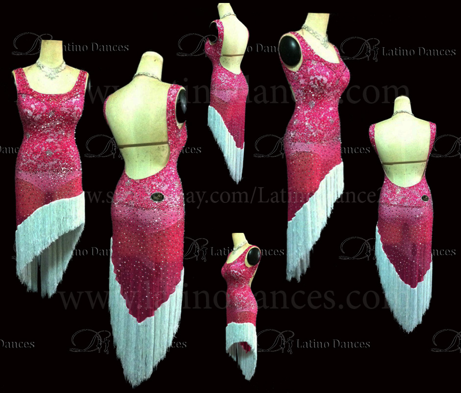 LATINO DANCE DRESS COMPETITION WITH HIGH QUALITY STONE M420