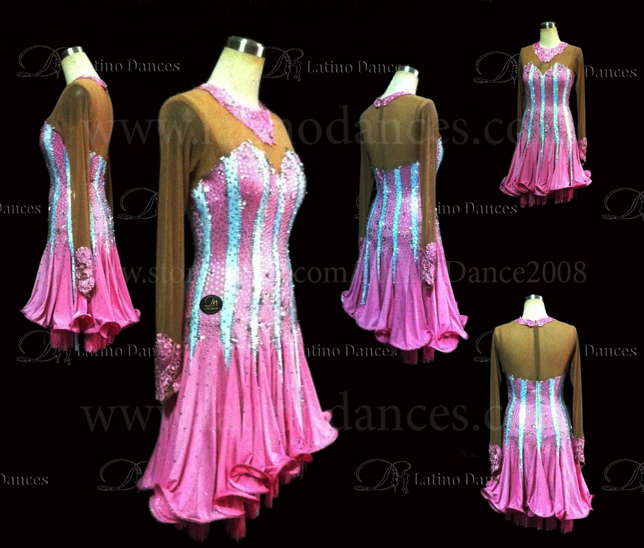 LATINO DANCE DRESS COMPETITION WITH HIGH QUALITY STONE M422