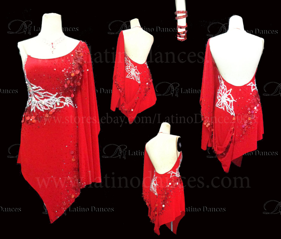 LATINO DANCE DRESS COMPETITION WITH HIGH QUALITY STONE M424