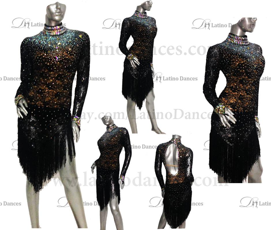 LATINO DANCE DRESS COMPETITION WITH HIGH QUALITY STONE M428