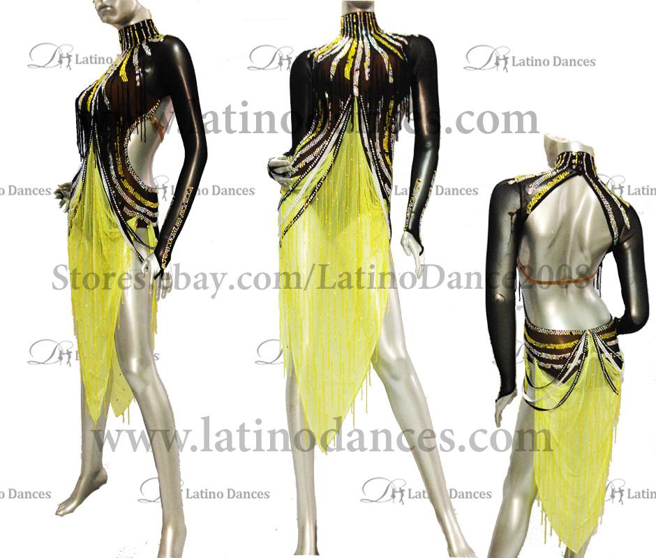 LATINO DANCE DRESS COMPETITION WITH HIGH QUALITY STONE M429