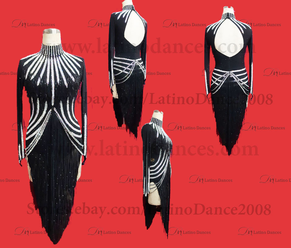 LATINO DANCE DRESS COMPETITION WITH HIGH QUALITY STONE M429B