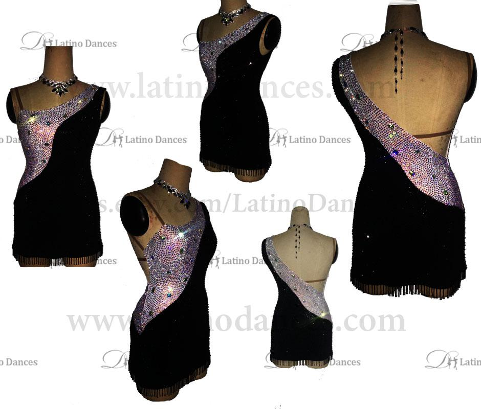 LATINO DANCE DRESS COMPETITION WITH HIGH QUALITY STONE M430