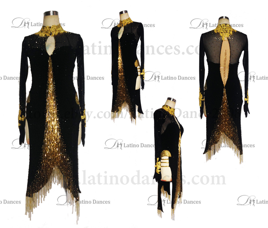 LATINO DANCE DRESS COMPETITION WITH HIGH QUALITY STONE M440