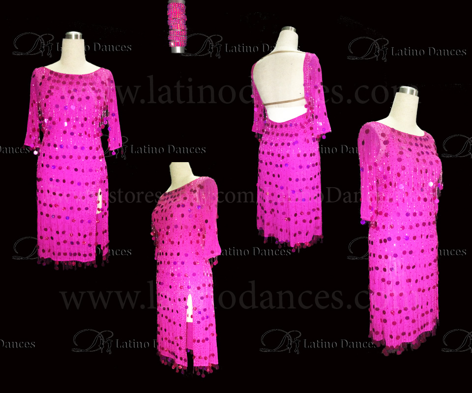 LATINO DANCE DRESS COMPETITION WITH HIGH QUALITY STONE M457