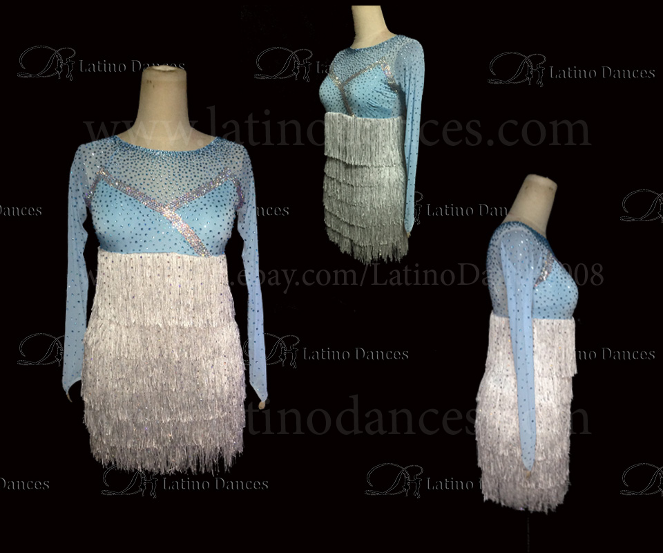 LATINO DANCE DRESS COMPETITION WITH HIGH QUALITY STONE M463
