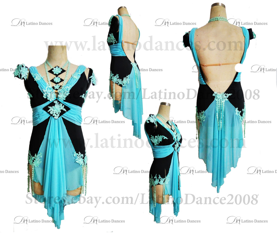 LATINO DANCE DRESS COMPETITION WITH HIGH QUALITY STONE M469