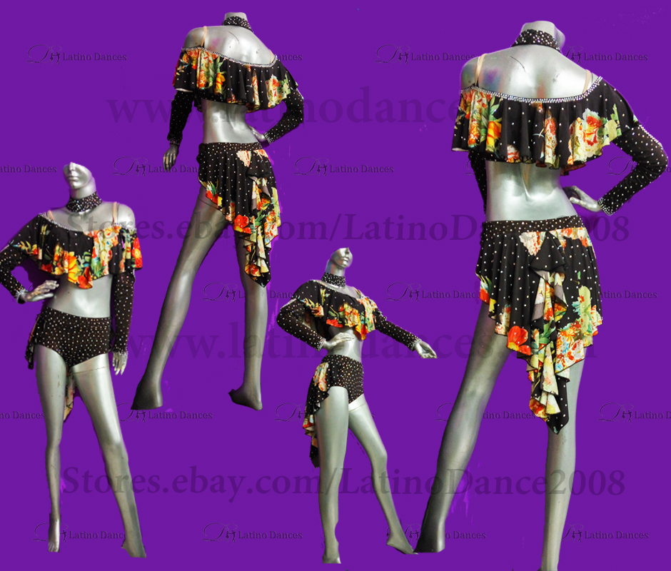 LATINO DANCE DRESS COMPETITION WITH HIGH QUALITY STONE M480