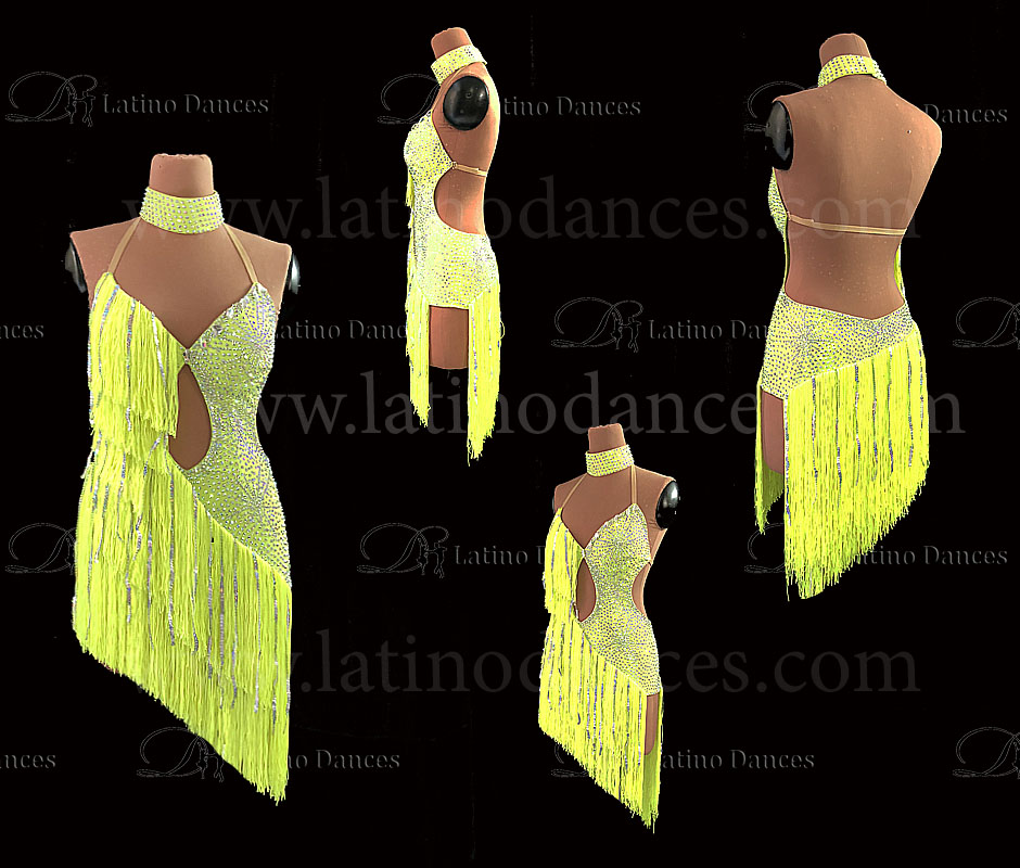 LATINO DANCE DRESS COMPETITION WITH HIGH QUALITY STONE M488