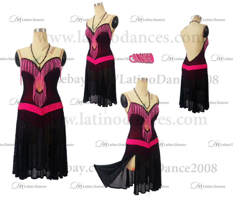 Latin Paso Dance Tailored Dress With High Quality stones M506B
