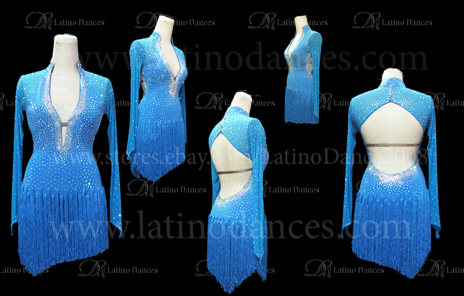 LATINO DANCE DRESS COMPETITION WITH HIGH QUALITY STONE M401