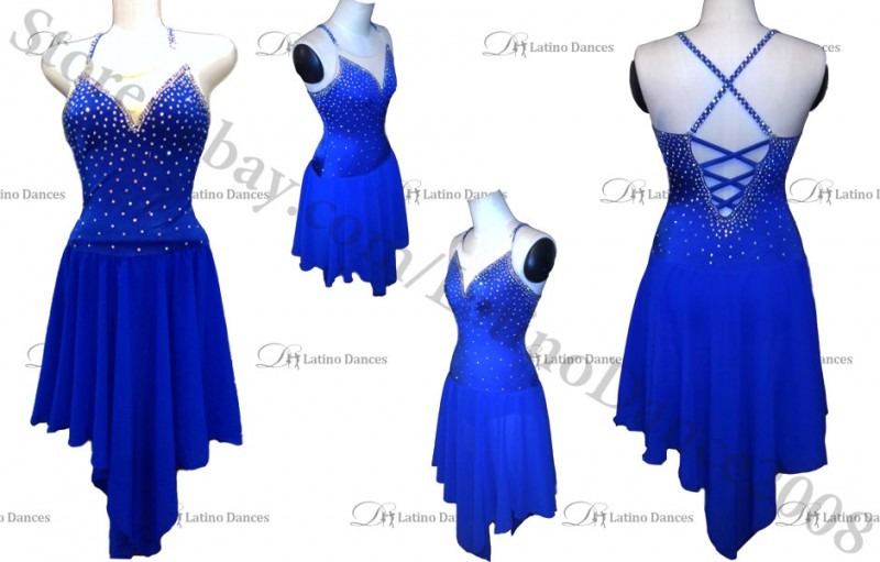 NEW FIGURE ICE SKATING DRESS ADULT SK18