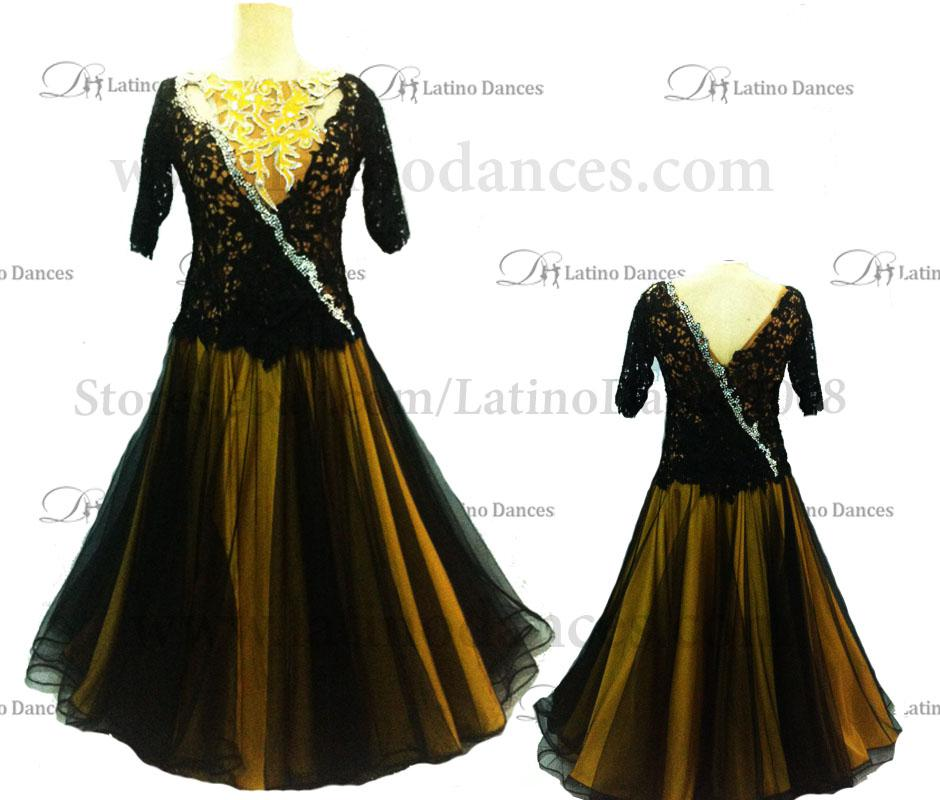 Ballroom Competition Smooth Dance Tailored Dress With High Quality stones ST224
