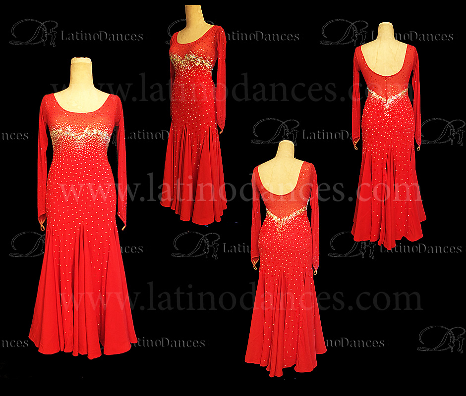 BALLROOM / STANDARD / SMOOTH DRESS ST375