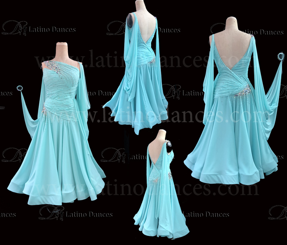 STANDARD / SMOOTH / BALLROOM DRESS ST334