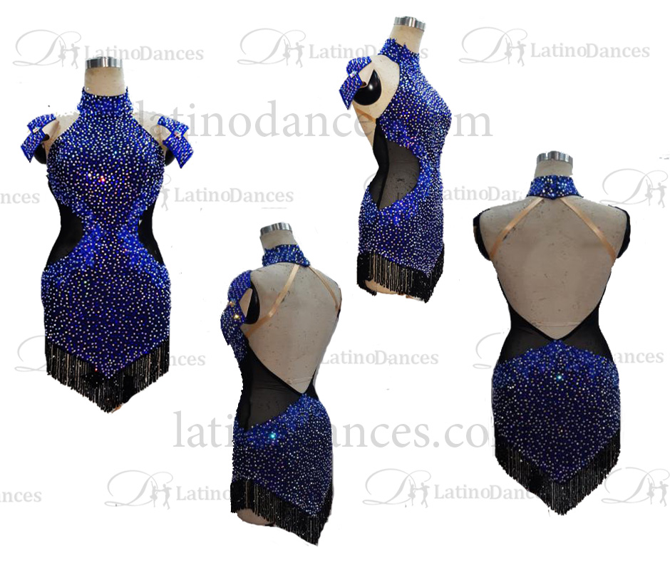 LATIN/RHYTHM DANCE COMPETITION DRESSES M686
