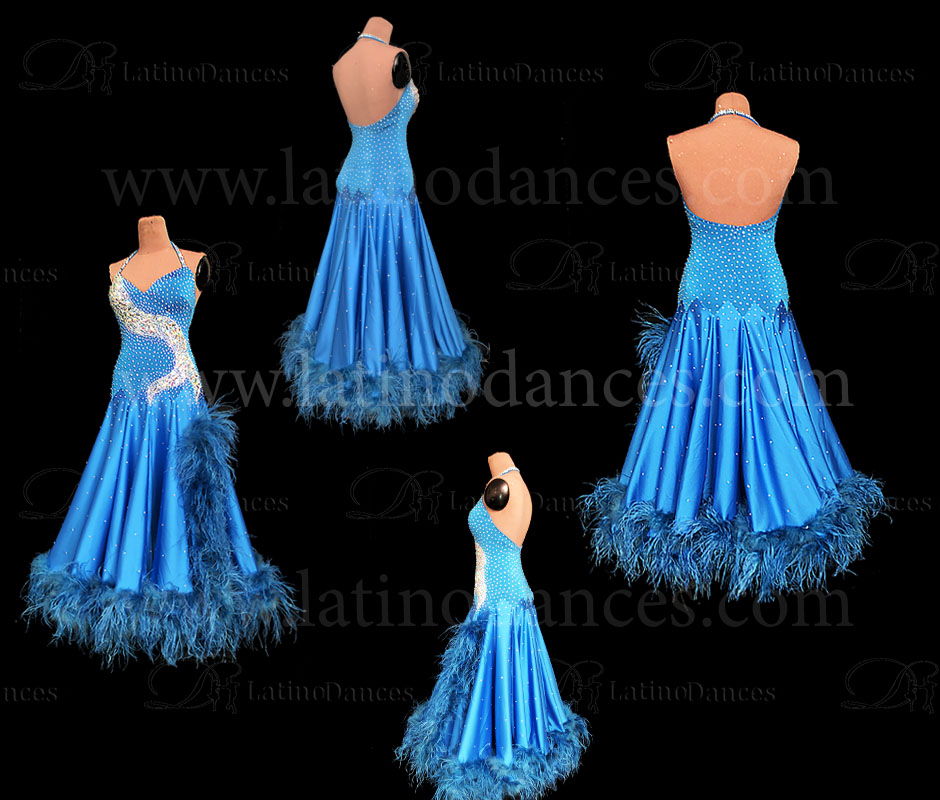 BALLROOM SMOOTH STANDARD DRESS FEATHERS. ST372A