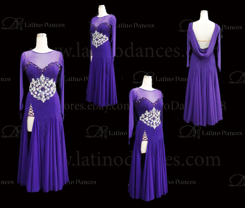 STANDARD / SMOOTH / BALLROOM DRESS ST345
