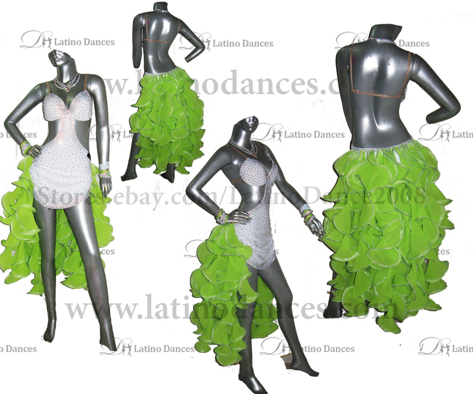 LATINO DANCE DRESS COMPETITION WITH HIGH QUALITY STONE M459