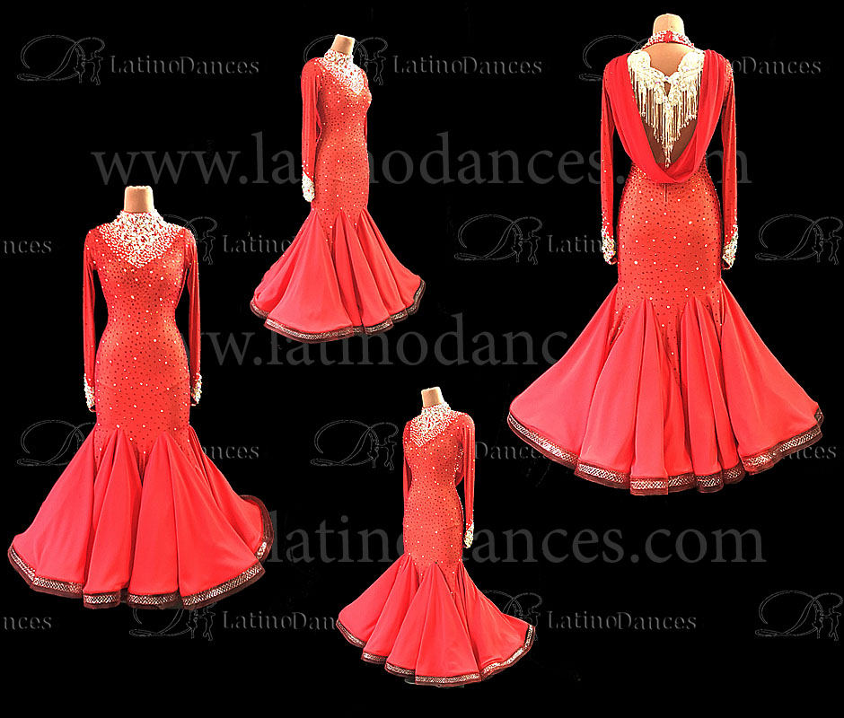 Ballroom dancing smooth dresses ST303
