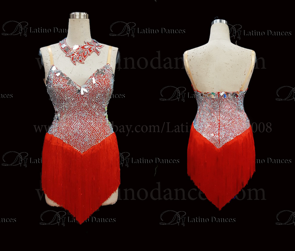Latin/Rhythm Dance Competition Dresses M455C