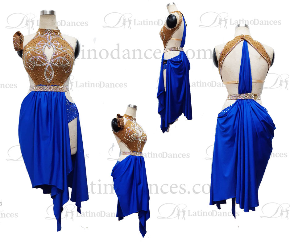 Dancesport dresses cha cha rumba jive M682