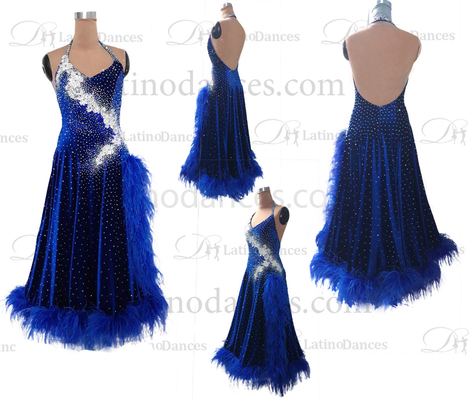 STANDARD / SMOOTH FEATHER DRESS ST377