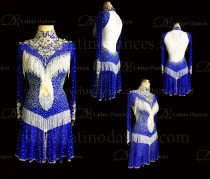 Latin  Dance Tailored Dress With High Quality stones M569
