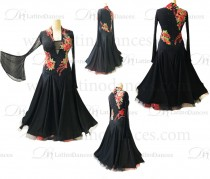 BALLROOM / STANDARD DRESS WITH HIGH QUALITY STONES ST321