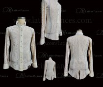 MEN'S LATIN SHIRT / BODY. DB 121B