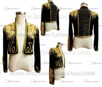 MEN'S LATIN VEST/COAT/ BODY. DB 136
