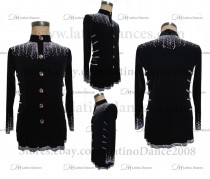 MEN'S LATIN VEST/COAT/ BODY. DB 137
