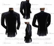 MEN'S LATIN VEST/COAT/ BODY. DB 138